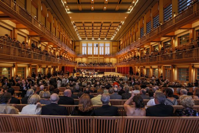 Inside Weill Hall at the Green Music Center