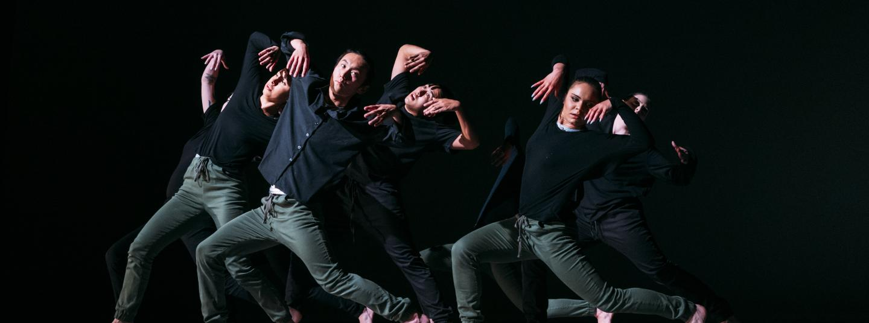 Dancers Dressed in Black